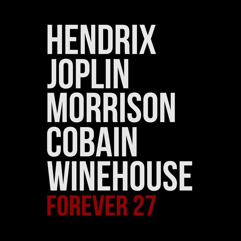 Camiseta Forever 27