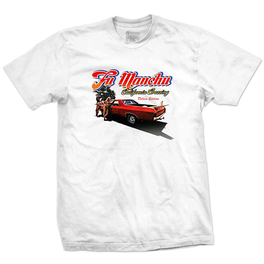 Camiseta Fu Manchu