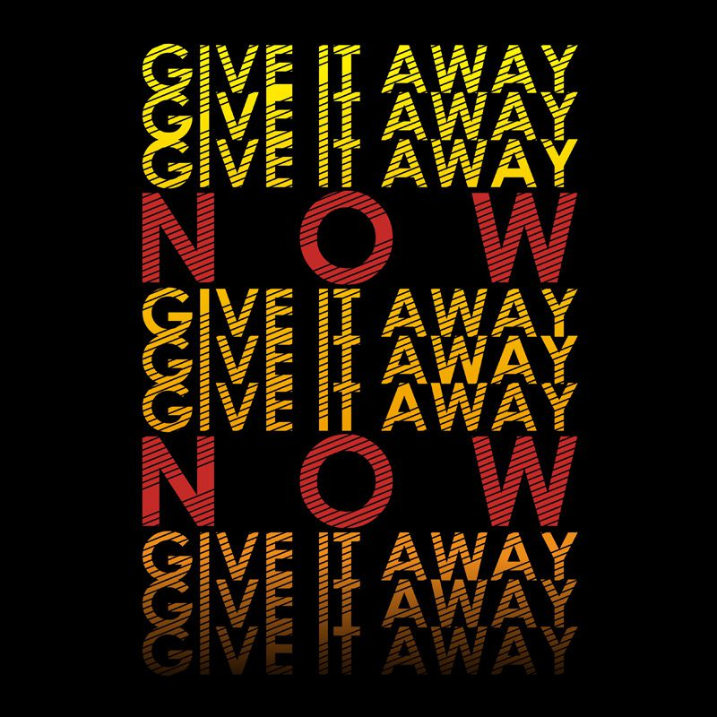 Camiseta Give it Away