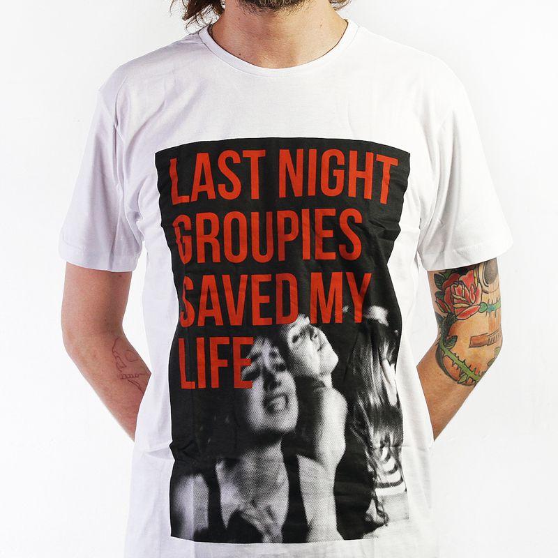 Camiseta Groupies
