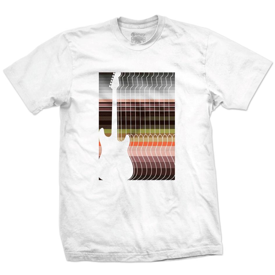 Camiseta Guitar Stripes