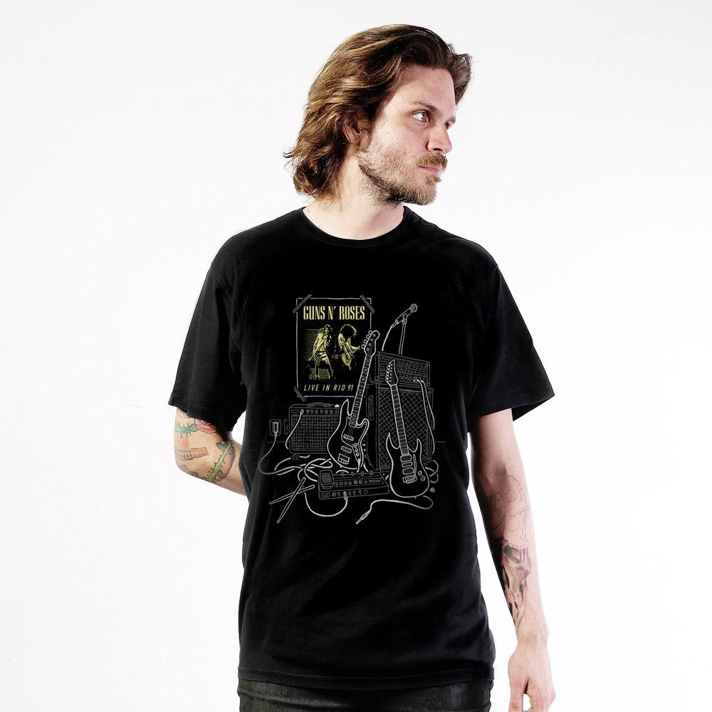 Camiseta Guns N' Roses Poster