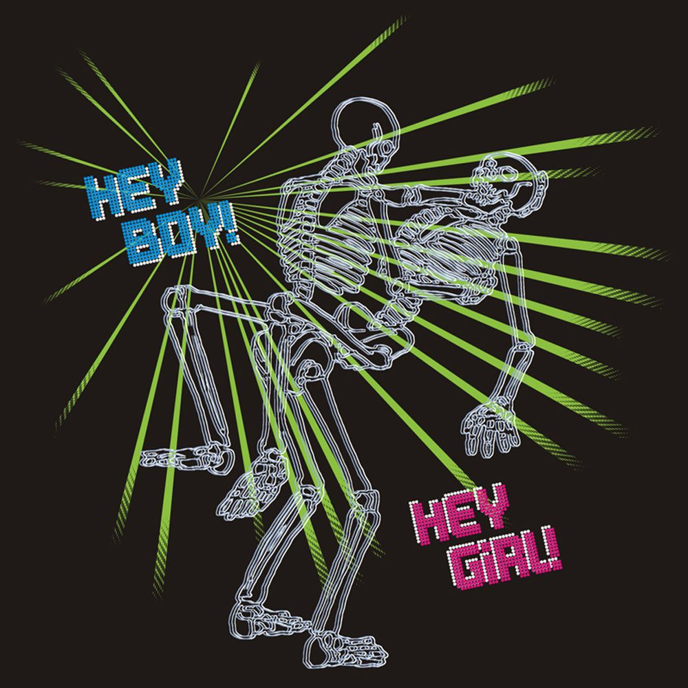 Camiseta Hey Boy, Hey Girl