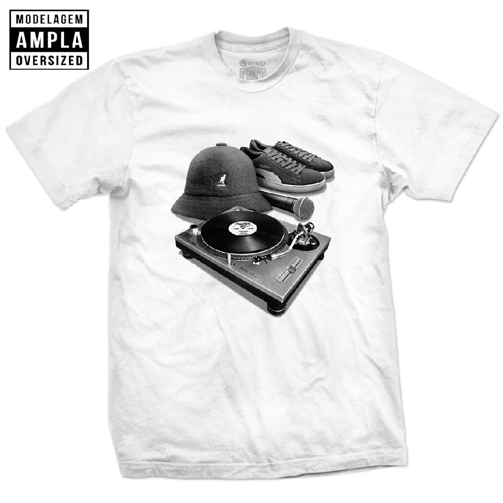 Camiseta Hip Hop Elements