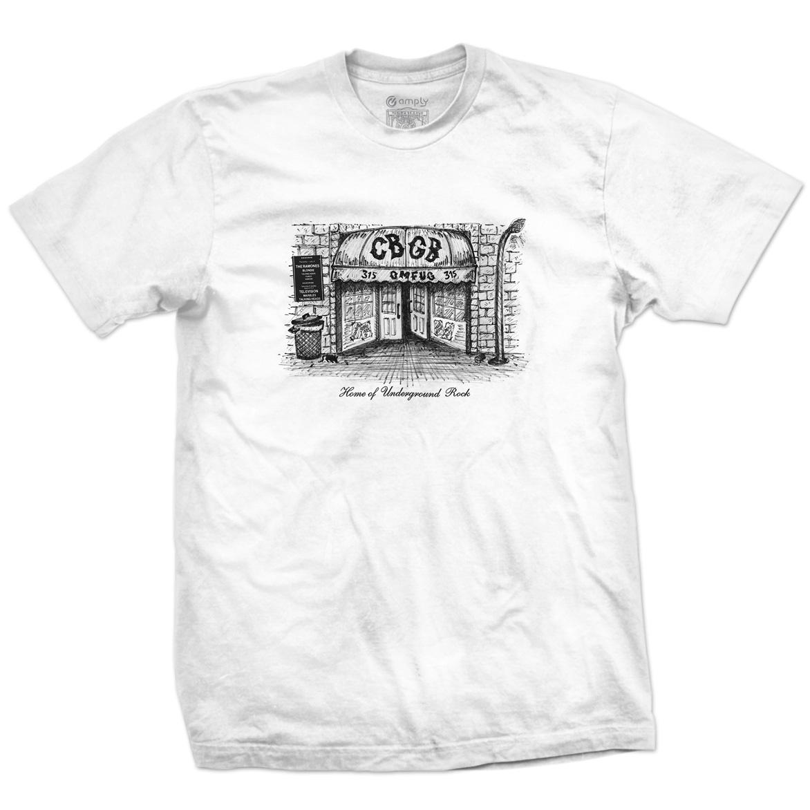 Camiseta Home CBGB