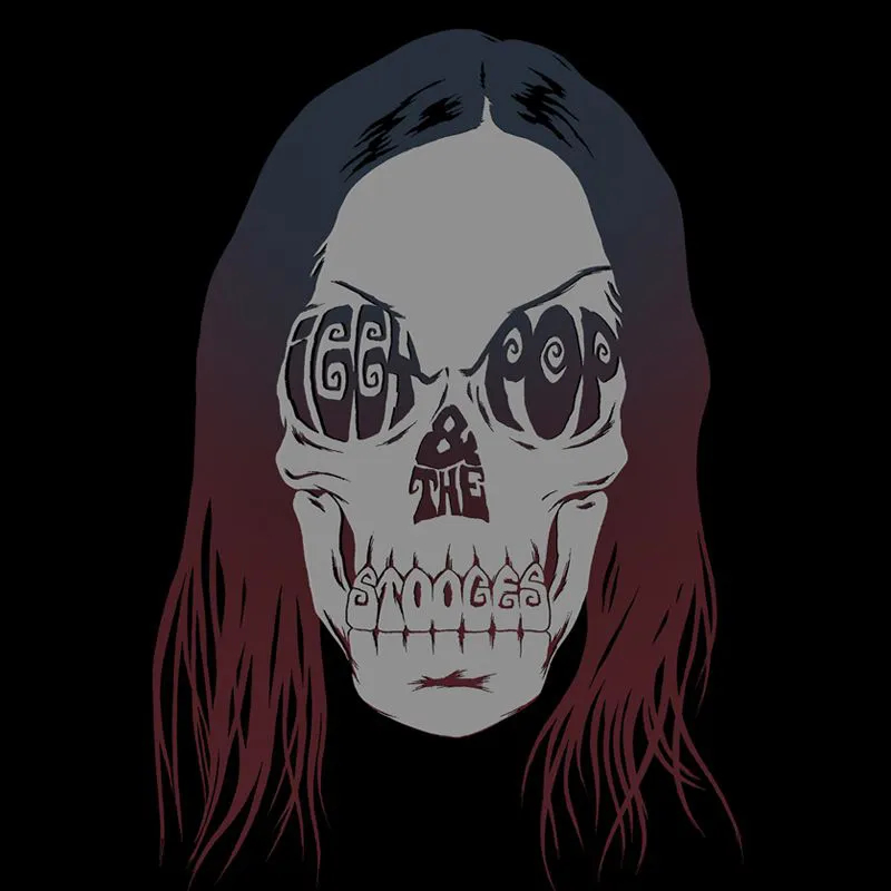Camiseta Iggy Pop