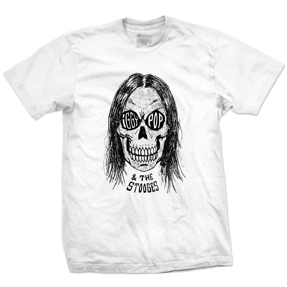 Camiseta Iggy Pop & The Stooges