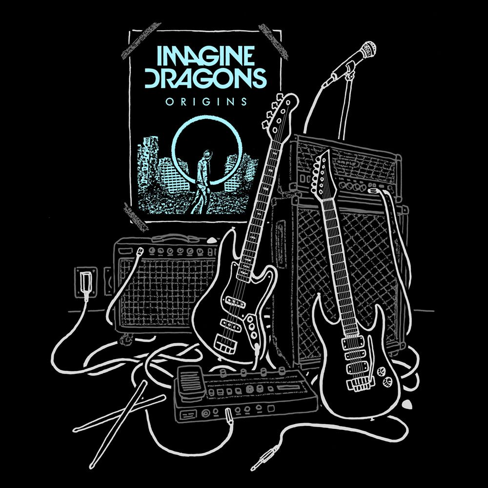 Camiseta Imagine Dragons Poster