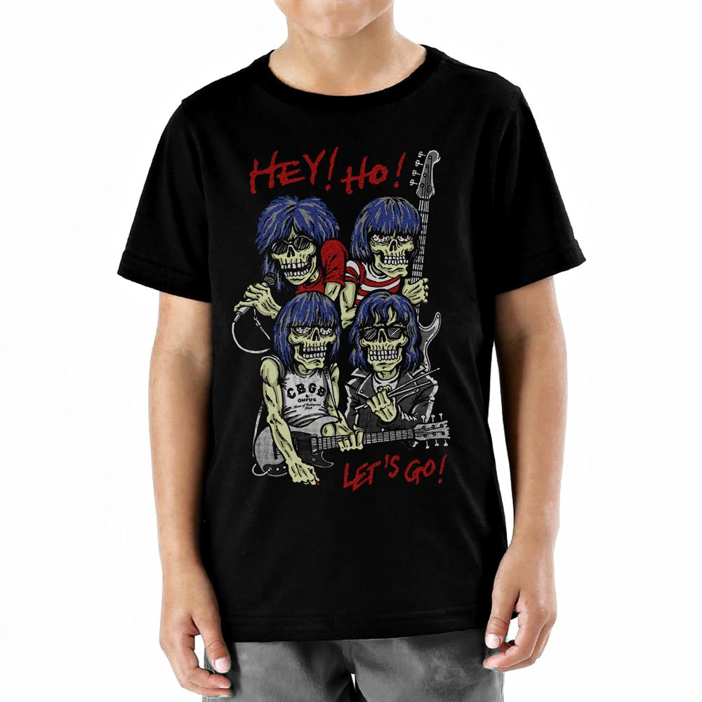Camiseta Ramones Infantil