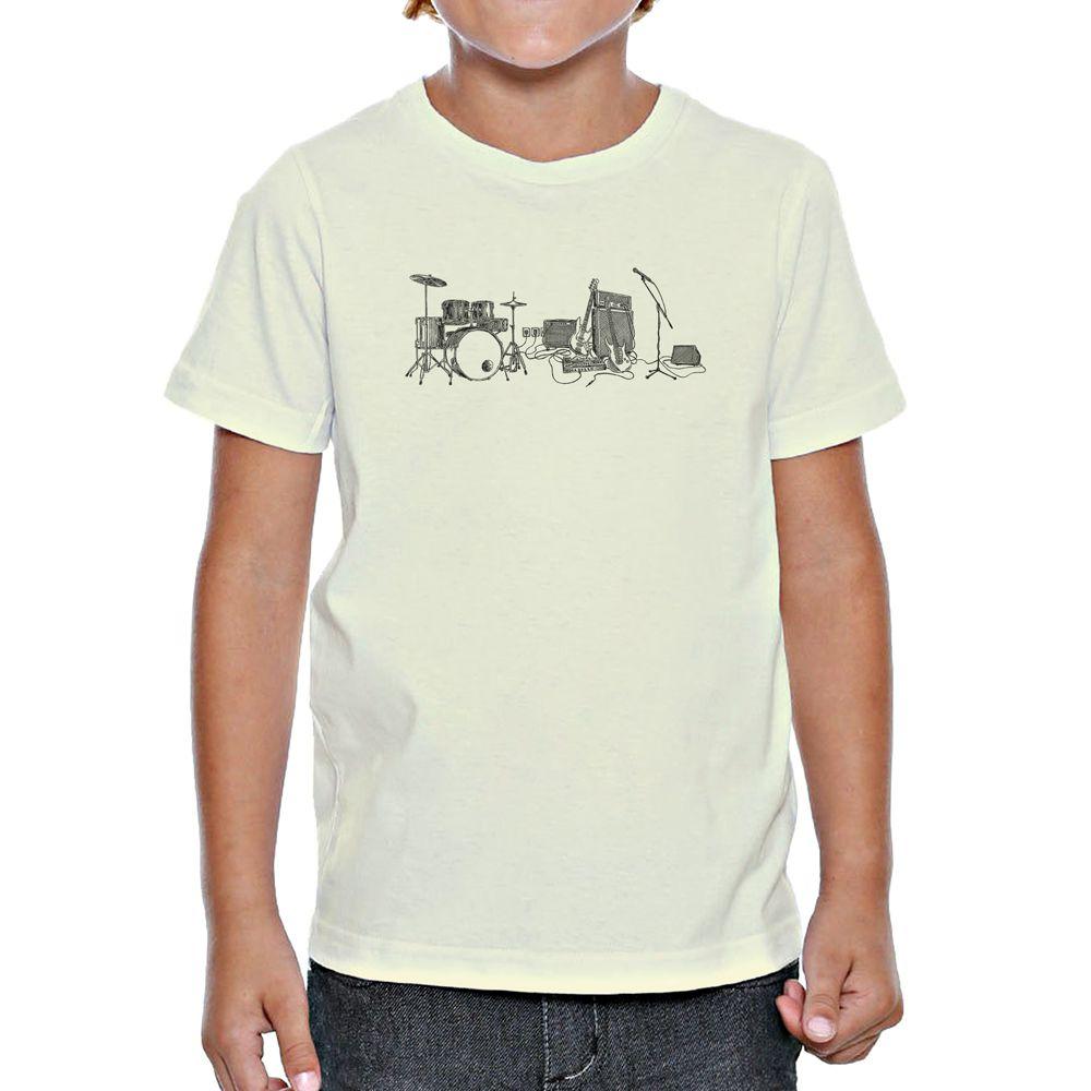 Camiseta Infantil Rock Draft