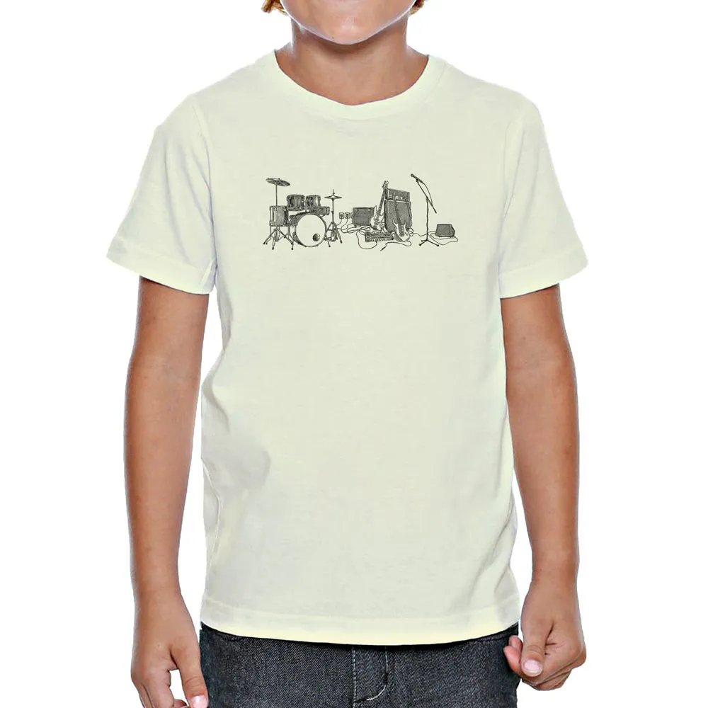 Camiseta Rock Draft Infantil