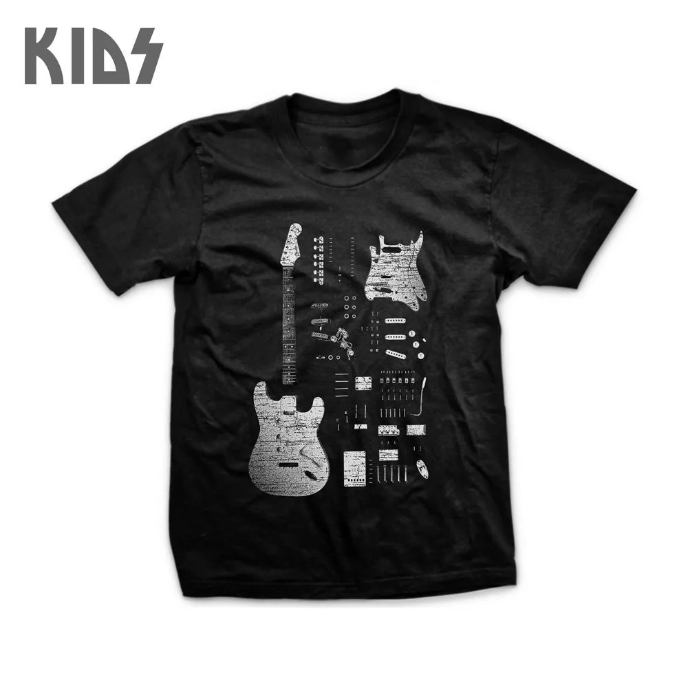 Camiseta Stratocaster Infantil