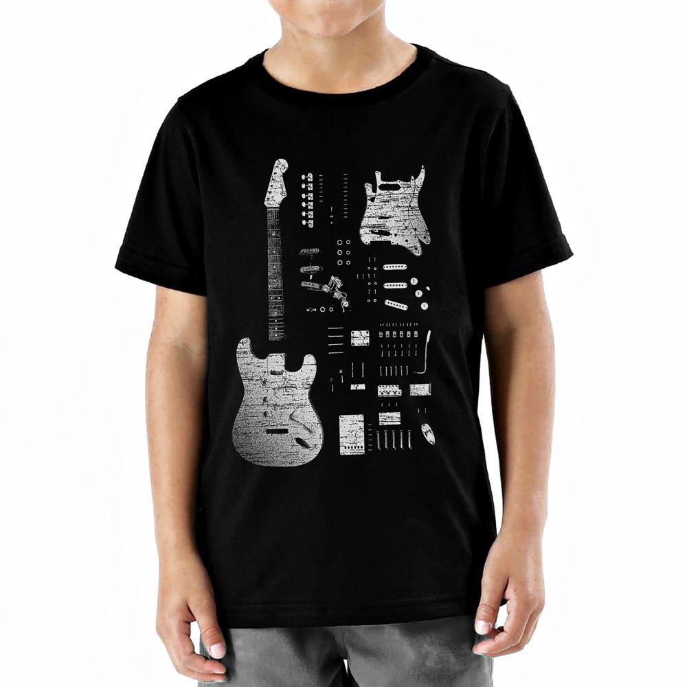 Camiseta Infantil Stratocaster