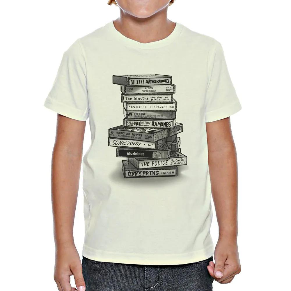 Camiseta Tapes Rock Infantil