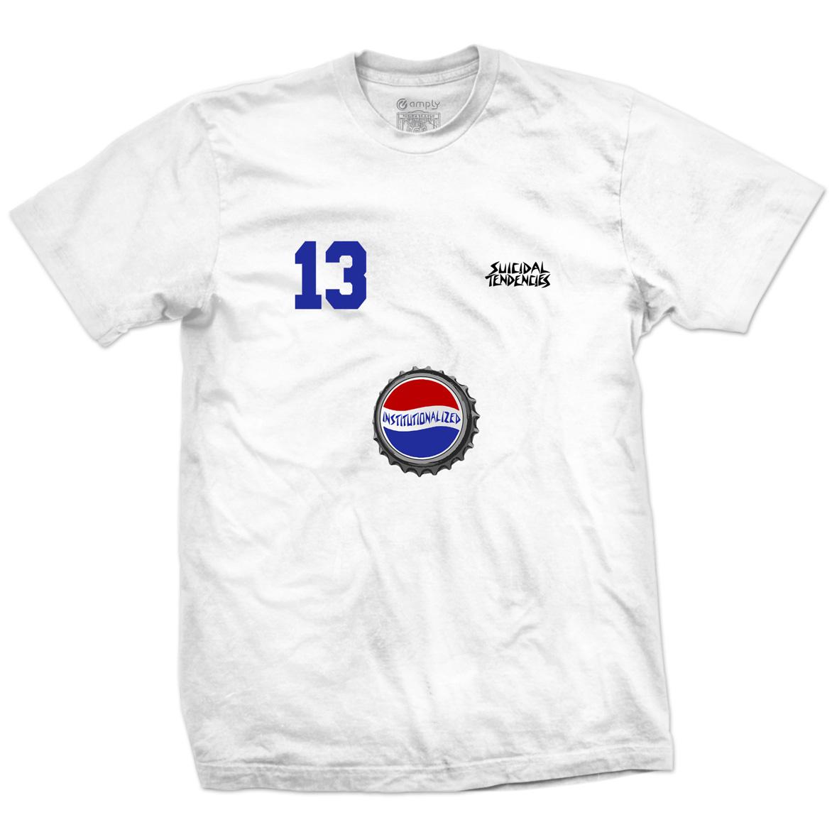 Camiseta Institutionalized