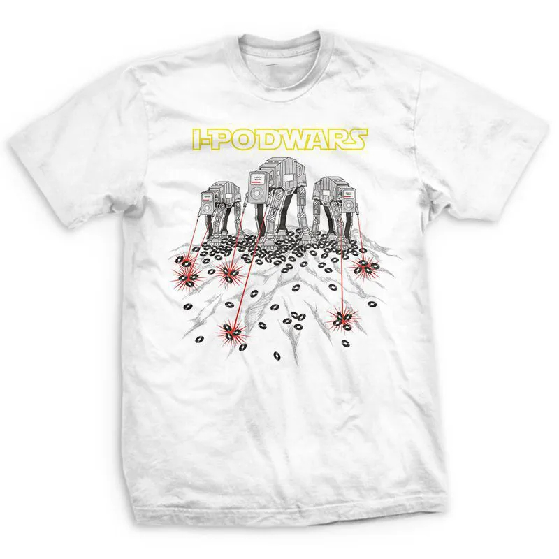 Camiseta Ipod Wars