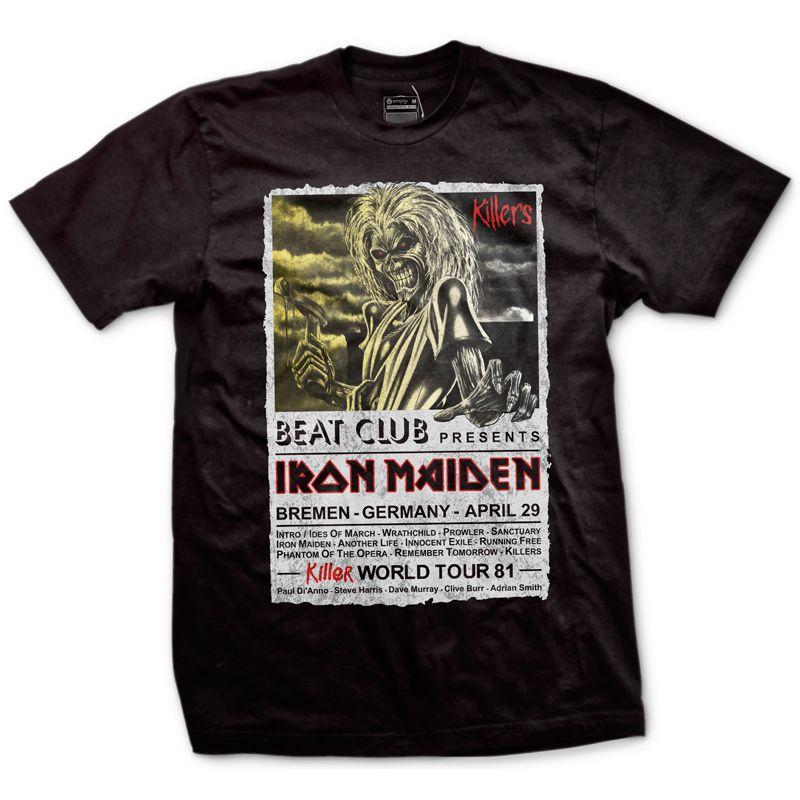 ff56b7fbf8 Camiseta Iron Maiden - Amply Camisetas - Camisetas de Música