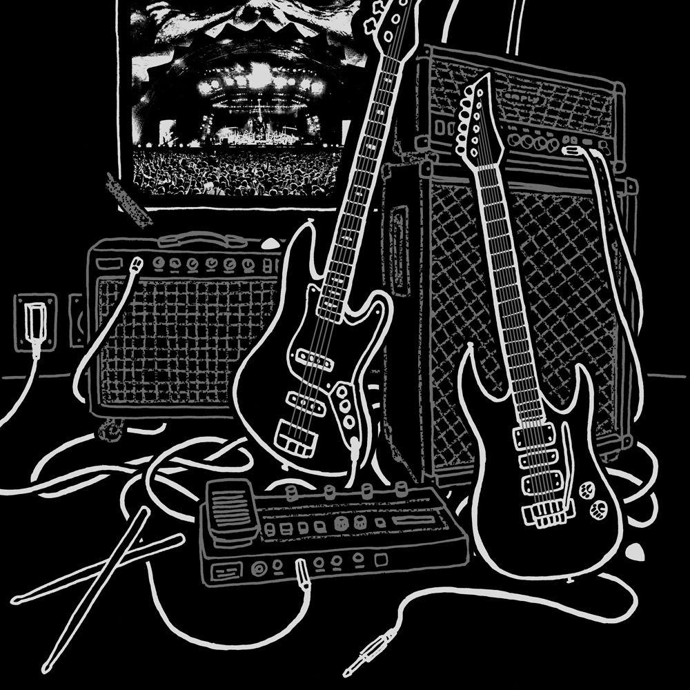 Camiseta Iron Maiden Poster