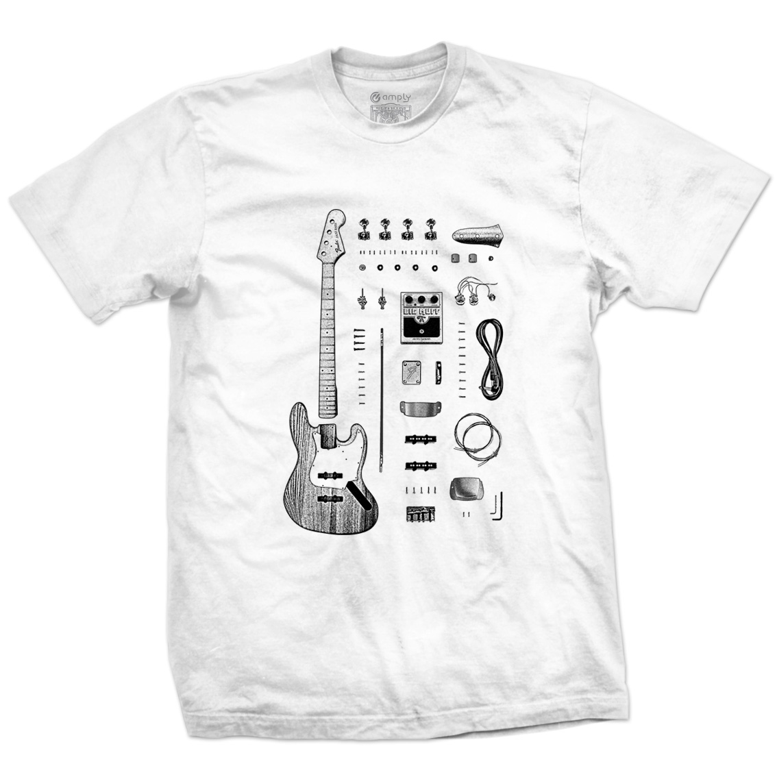 Camiseta Jazz Bass