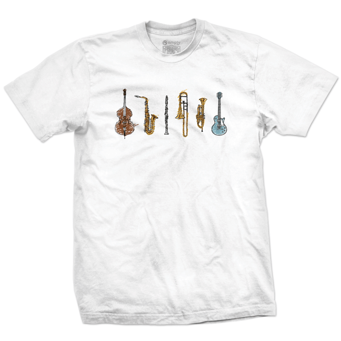 Camiseta Jazz Instruments