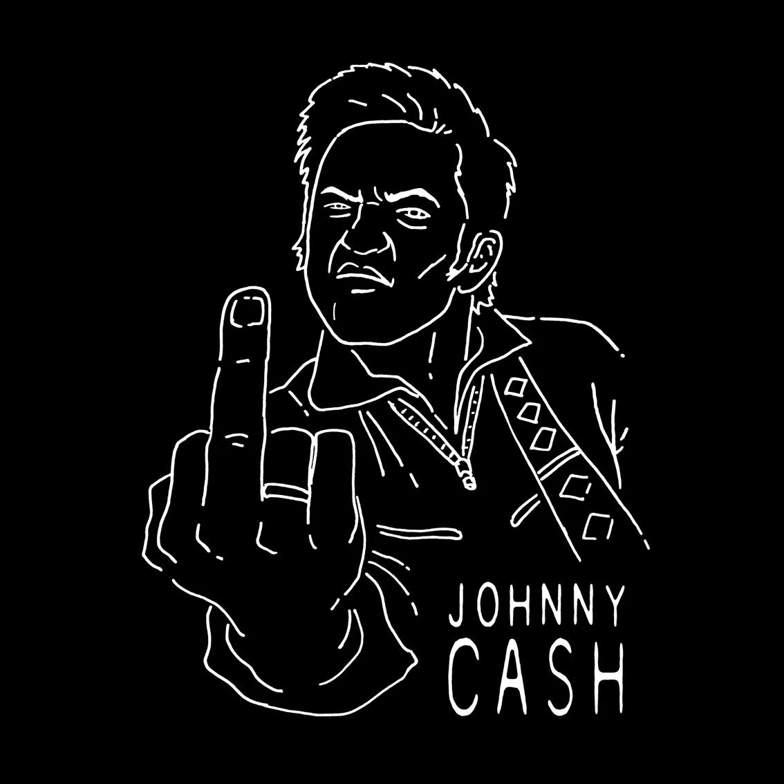 Camiseta Johnny Cash