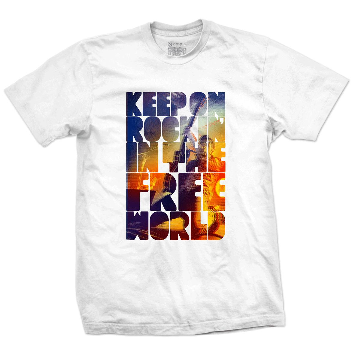 Camiseta Keep on Rockin
