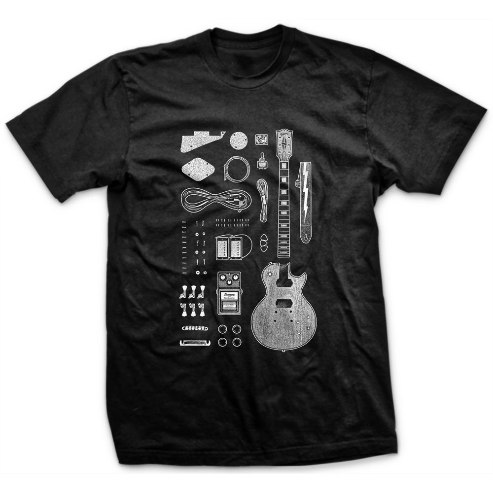 Camiseta Les Paul