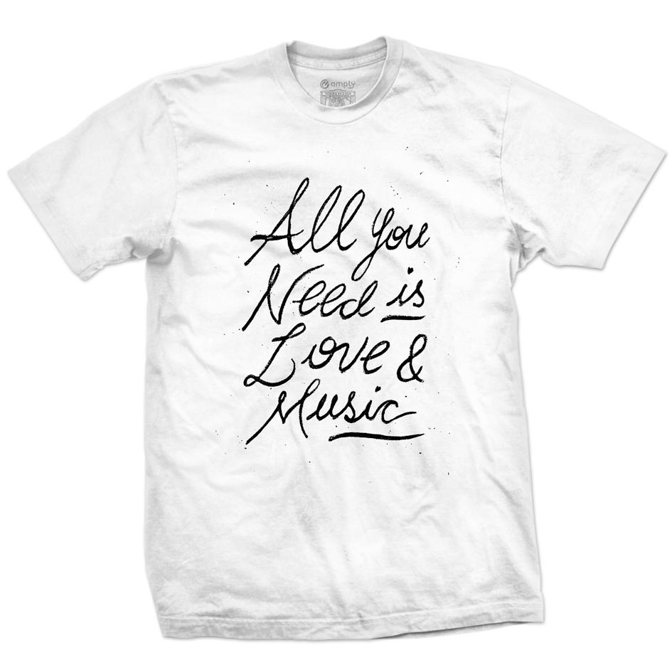 Camiseta Love & Music