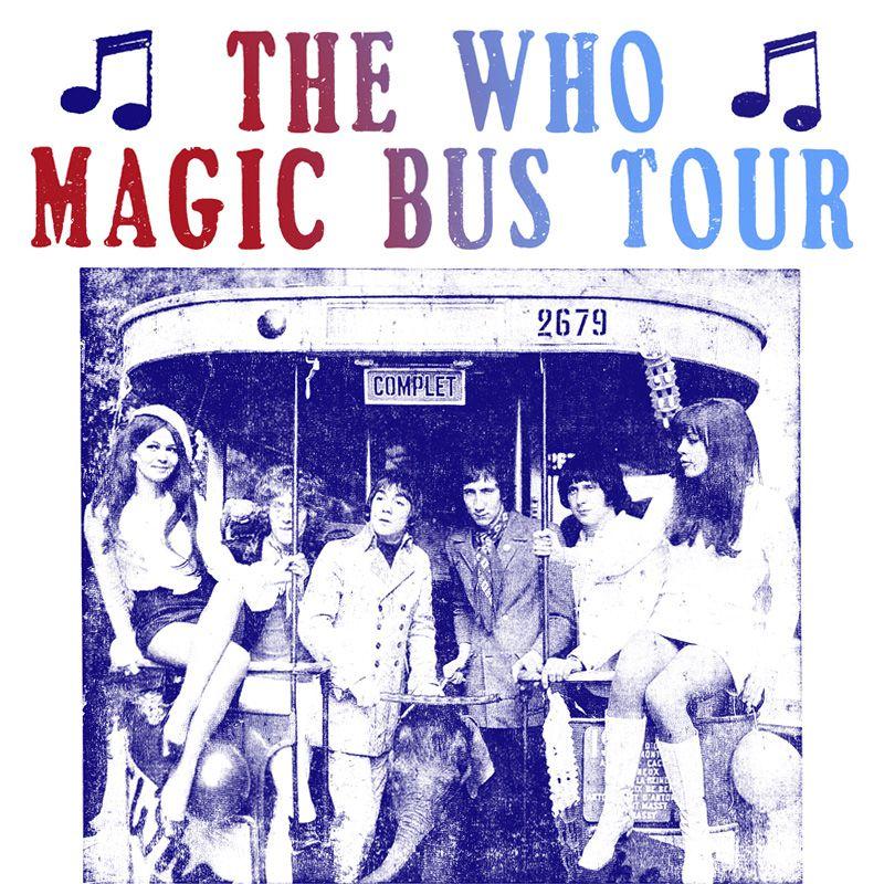 Camiseta Magic Bus - The Who