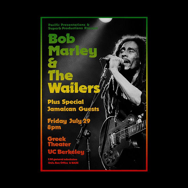 Camiseta Marley & Wailers