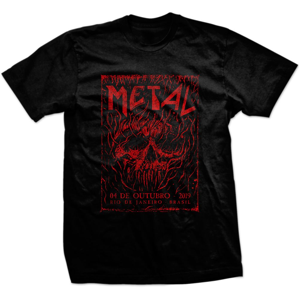 Camiseta Metal Day