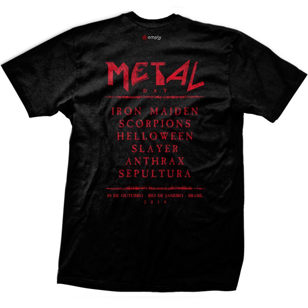 Camiseta Metal Day