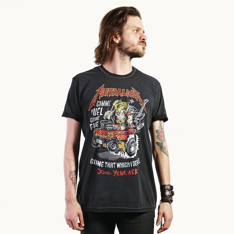 Camiseta Metallica - Muscle Car