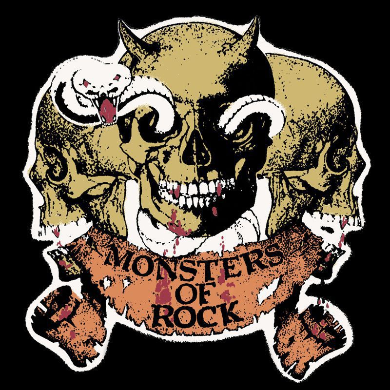 Camiseta Monsters of Rock