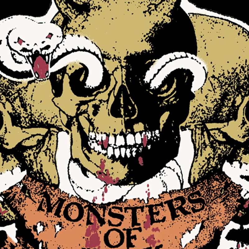 Camiseta Monsters of Rock
