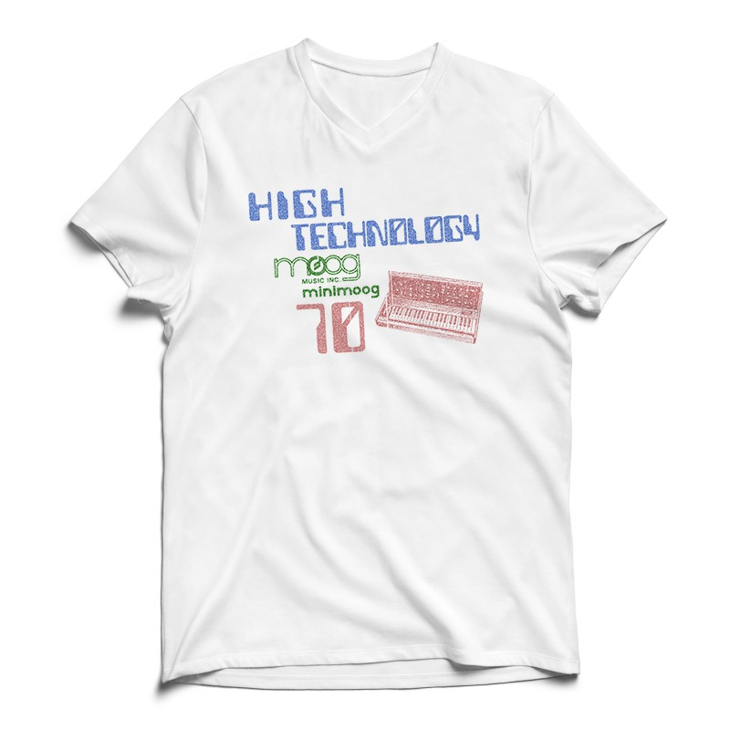 Camiseta Moog 70's