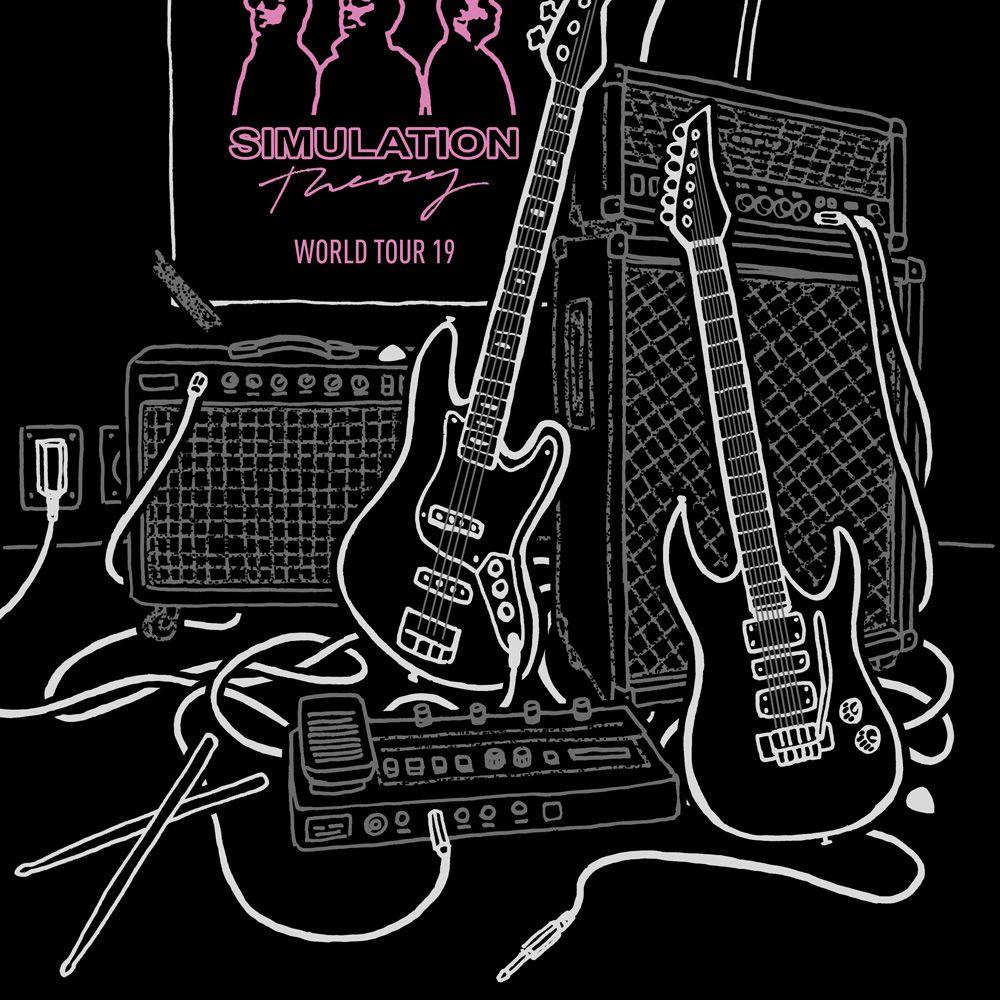 Camiseta Muse Poster