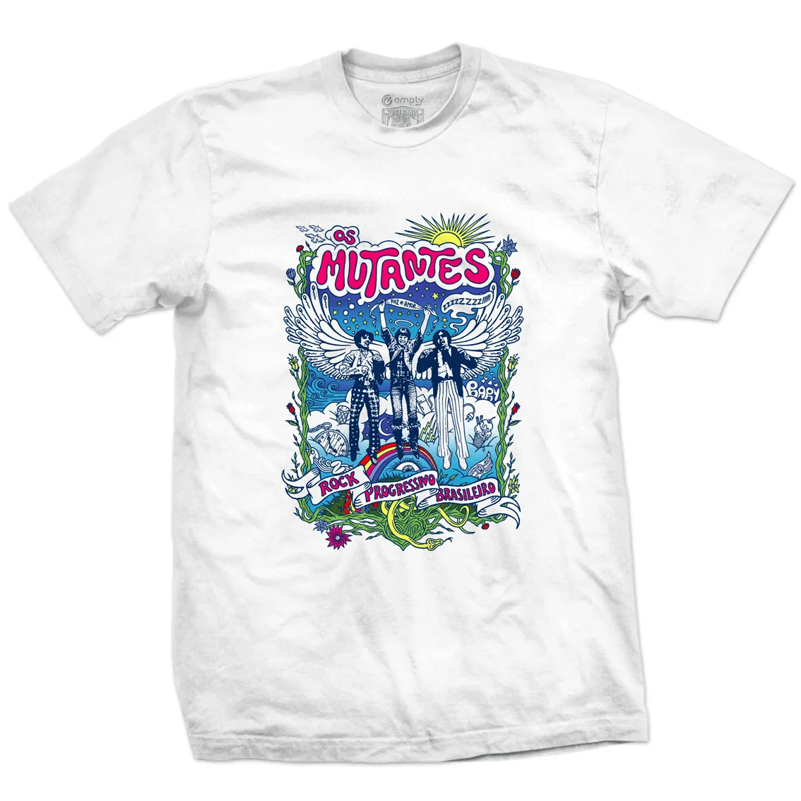 Camiseta Mutantes