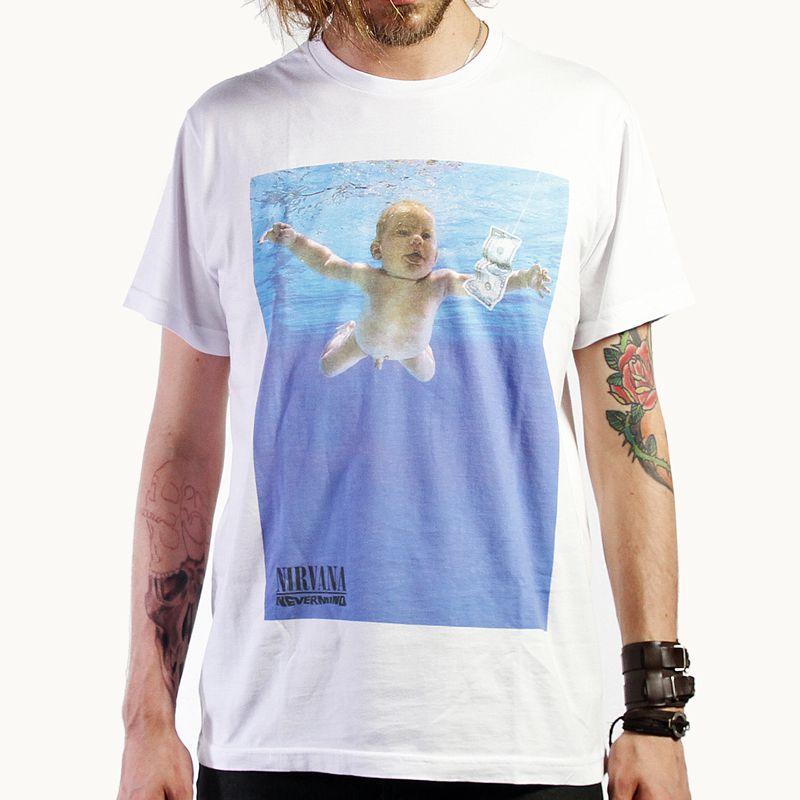 Camiseta Nirvana Nevermind