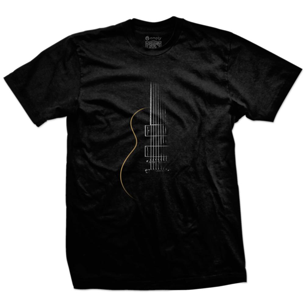Camiseta Outline Guitar