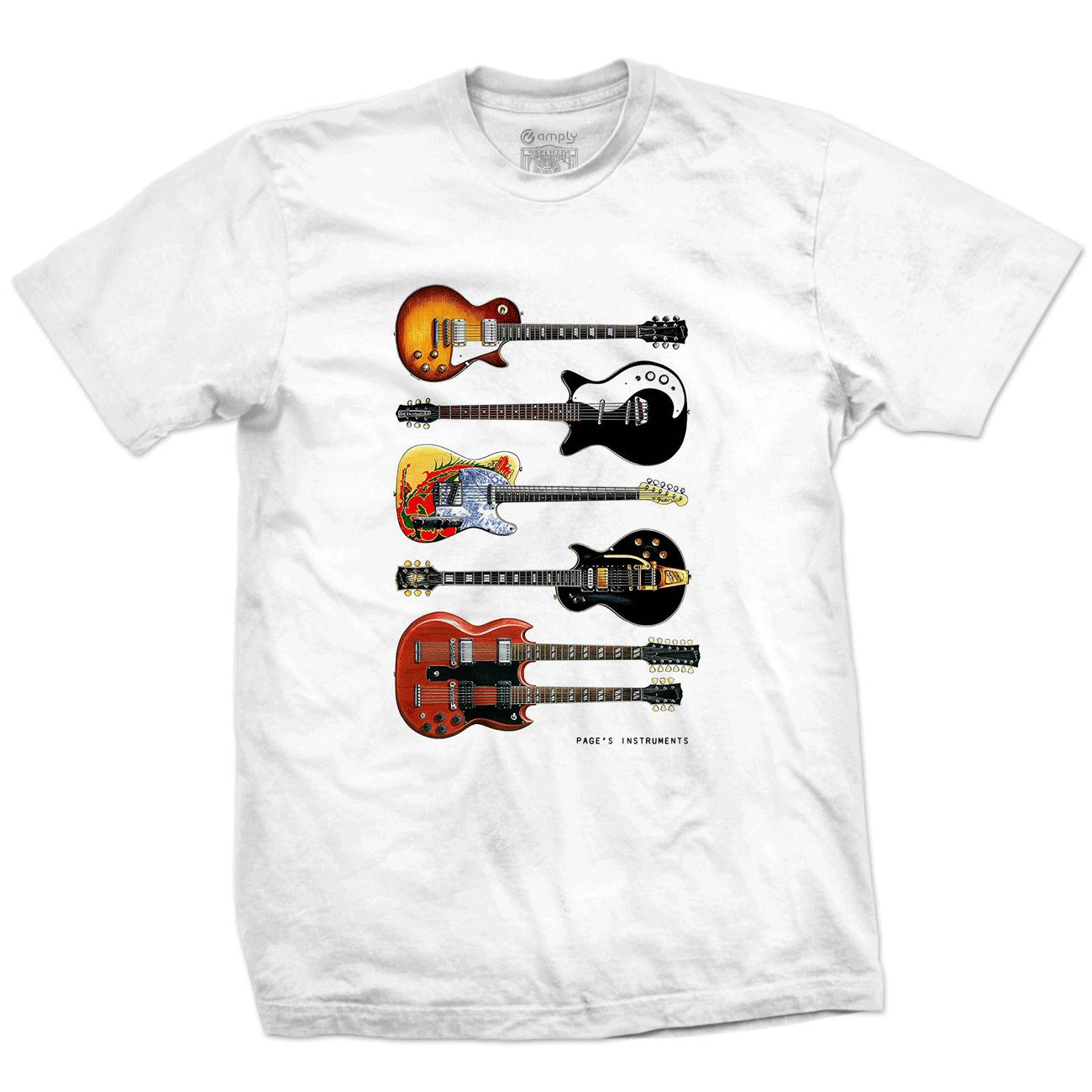 Camiseta Page's Instruments
