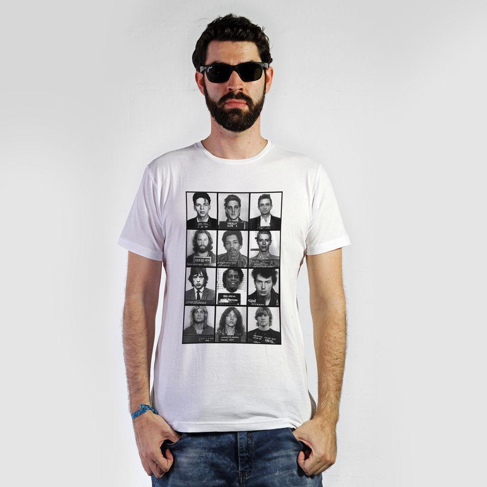 Camiseta Prisons Branco