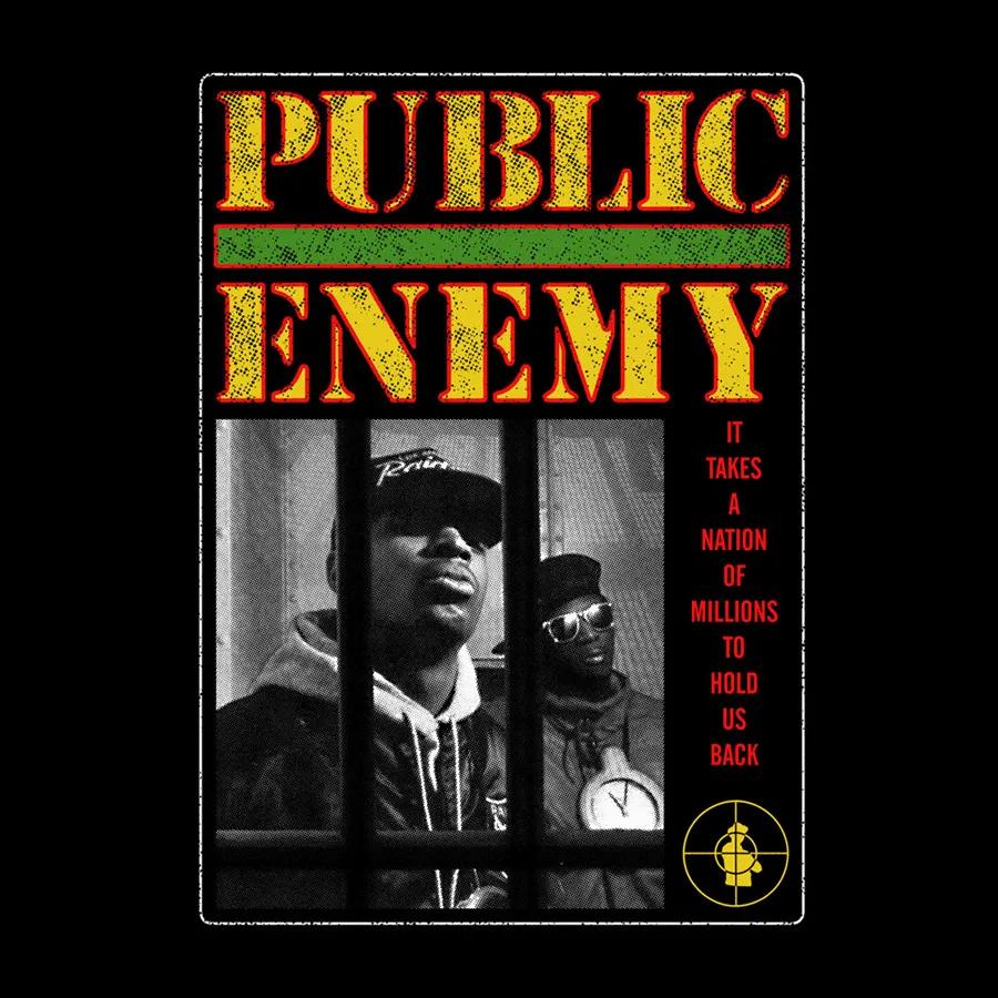 Camiseta Public Enemy