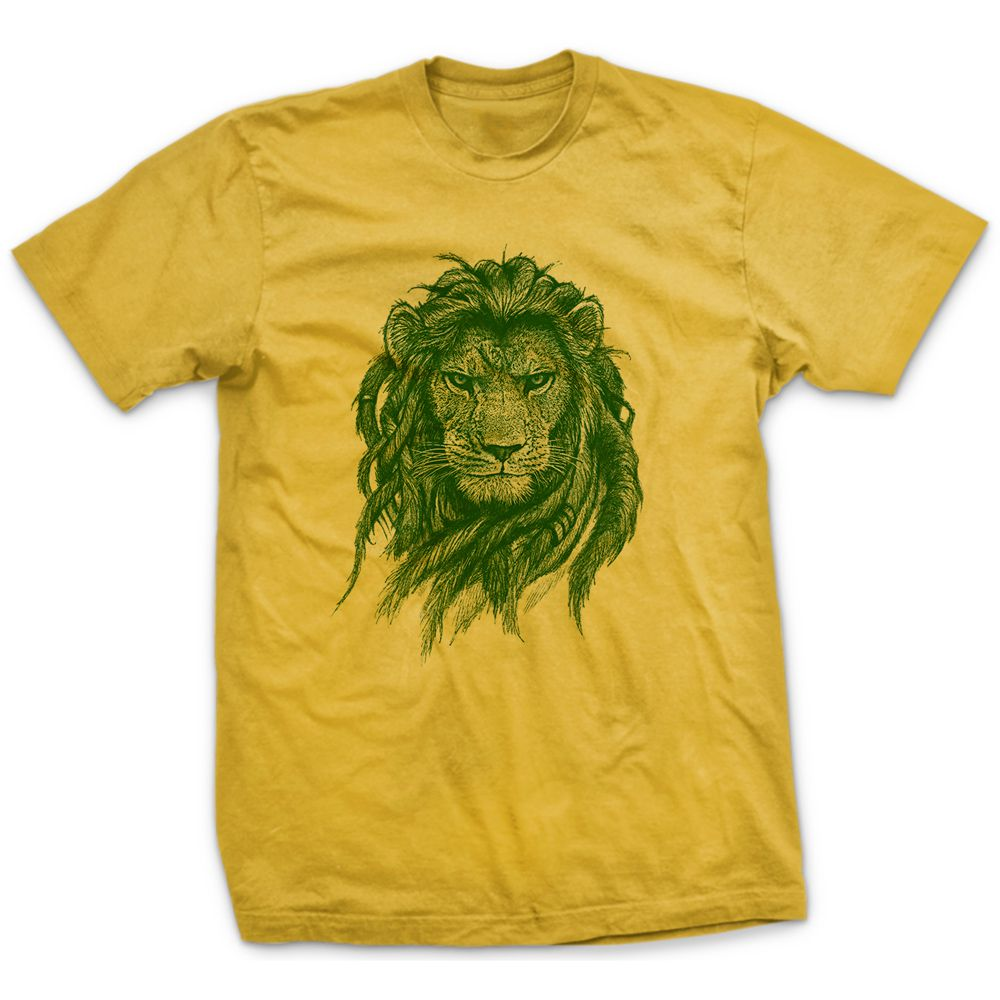Camiseta Rasta Lion