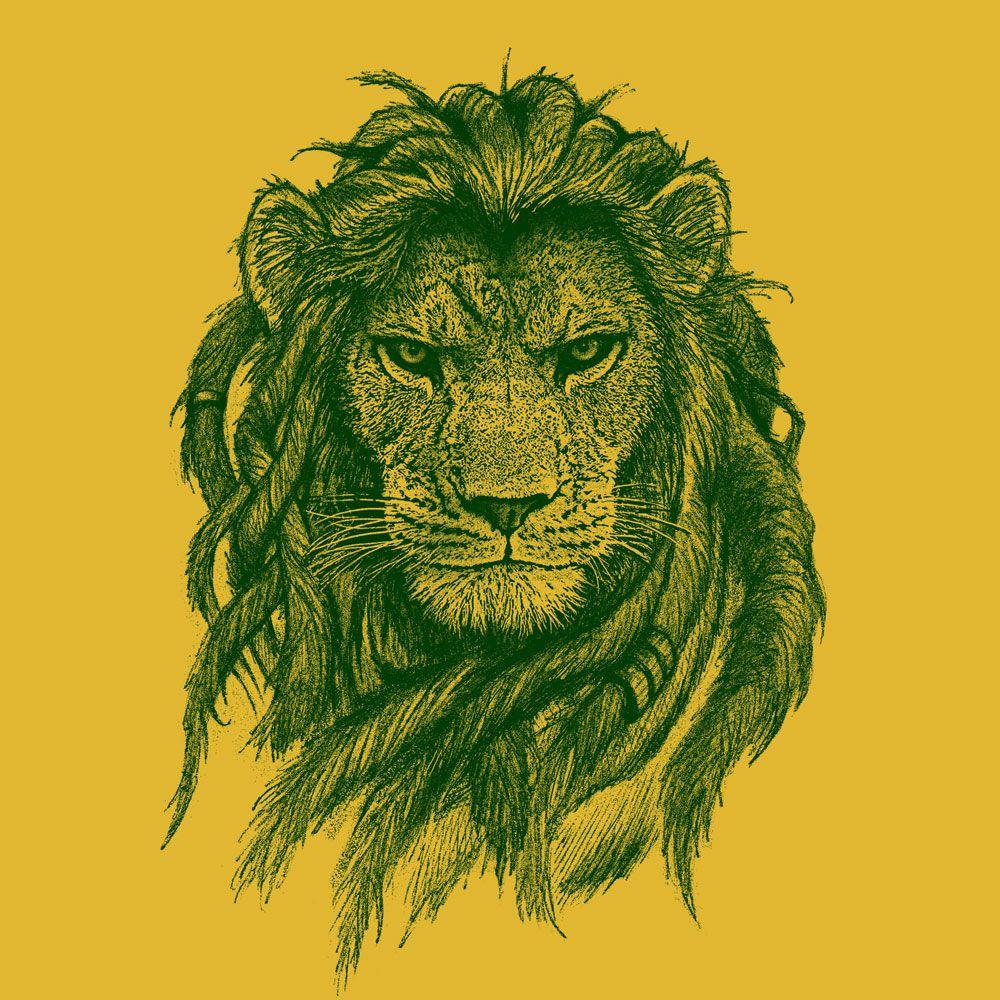 Camiseta Rasta Lion