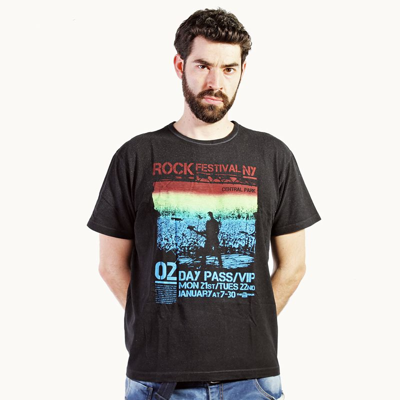 Camiseta Rock Festival