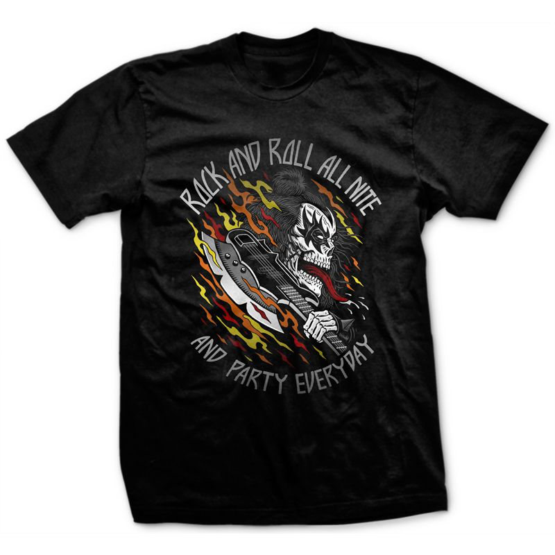 Camiseta Rock'n'Roll All Nite