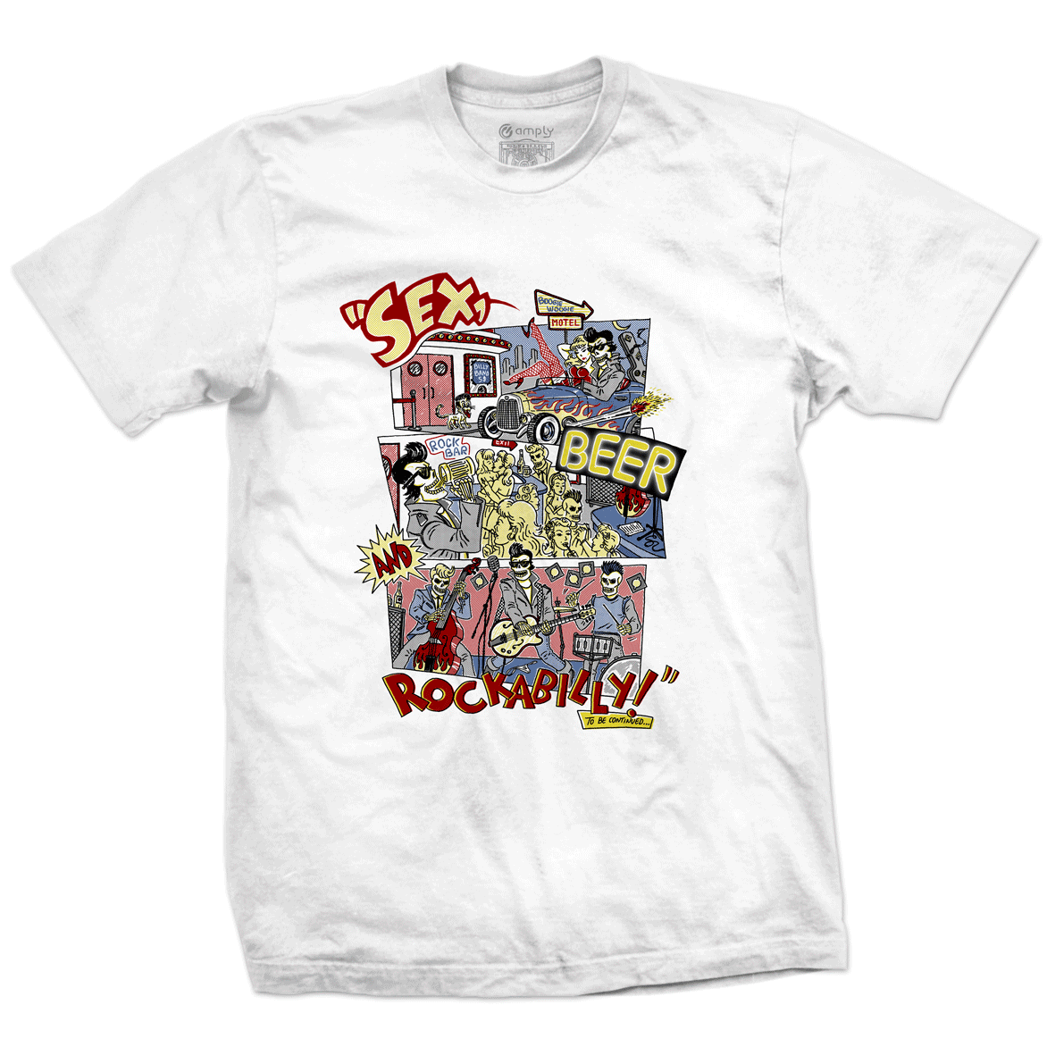 Camiseta Rockabilly