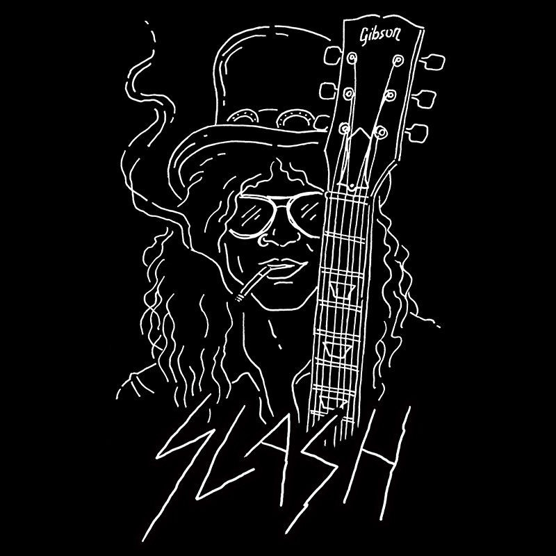Camiseta Slash