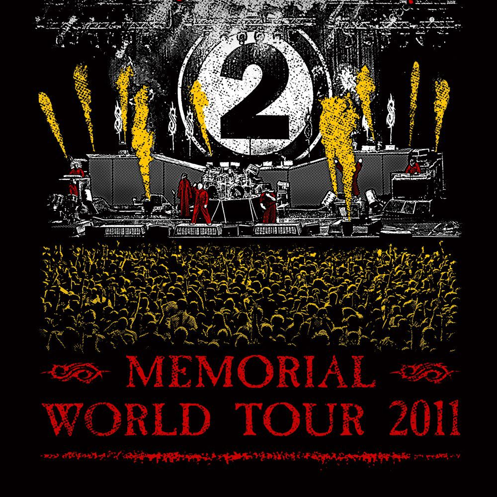 Camiseta Slipknot Memorial Tour